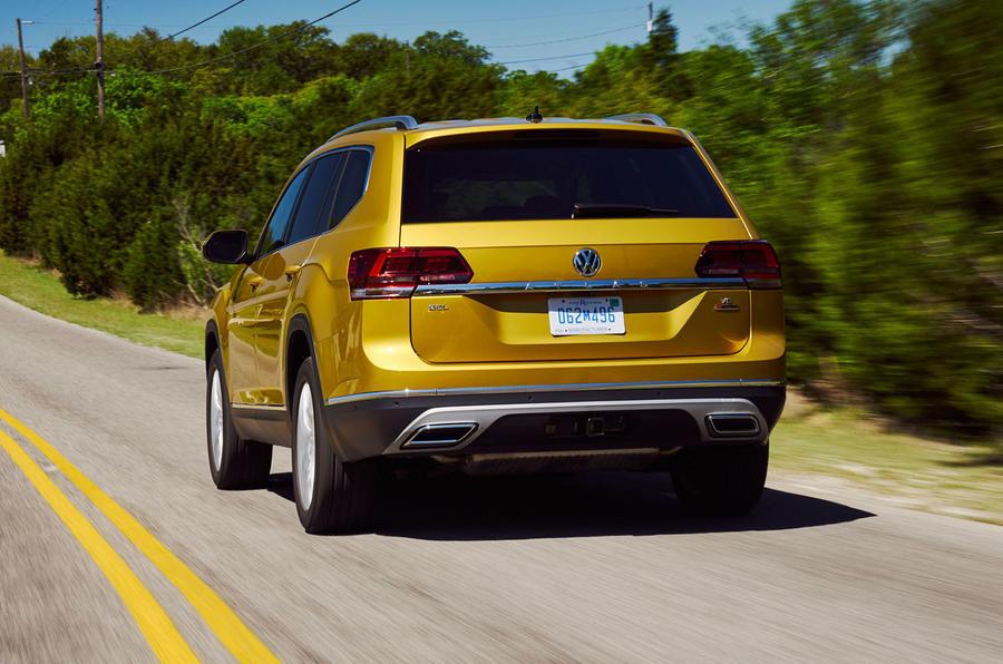 Volkswagen Atlas rear end