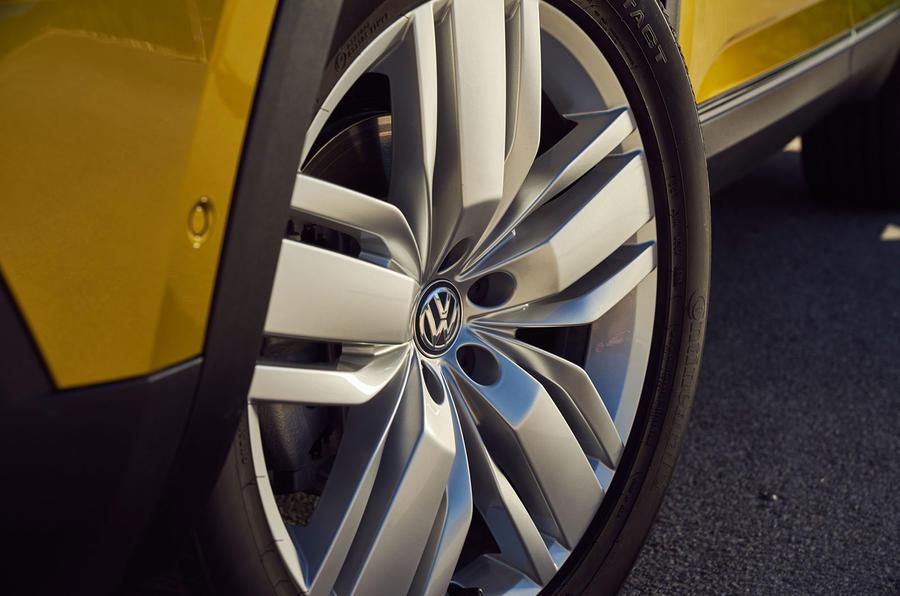 Volkswagen Atlas alloy wheels