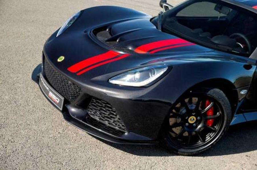 Lotus Exige 350 Special Edition front
