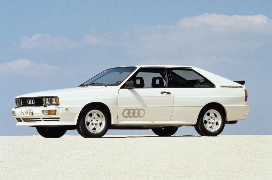 factory Audi Quattro