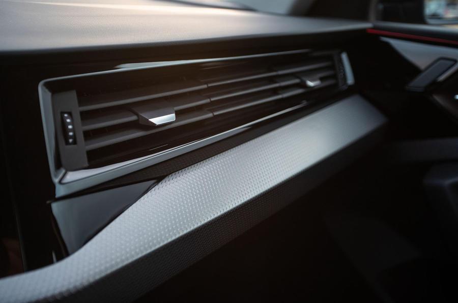 Audi A1 air vent