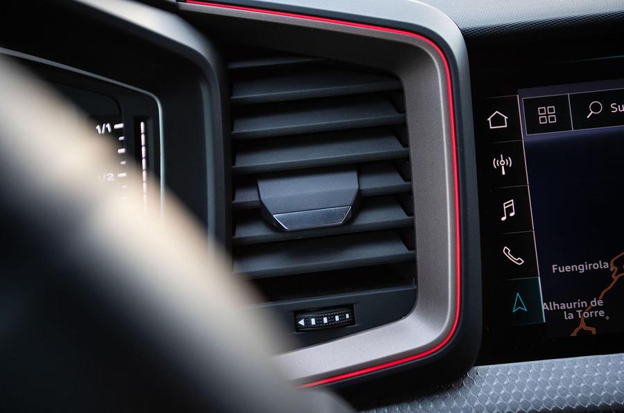 Audi A1 cabin vent