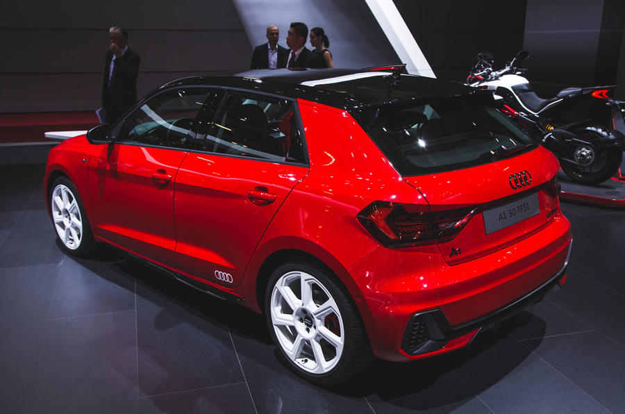 2018 Audi A1 makes first public appearance at Paris motor ...