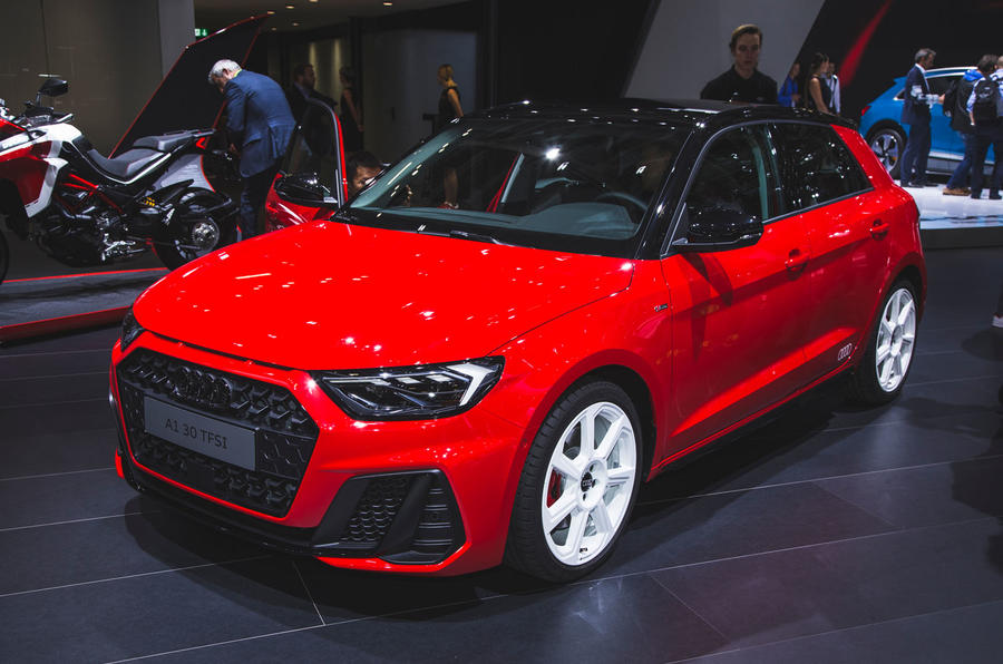2018 Audi A1 Makes First Public Appearance At Paris Motor Show Autocar