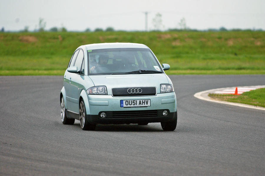 Audi A2 used buying guide - track