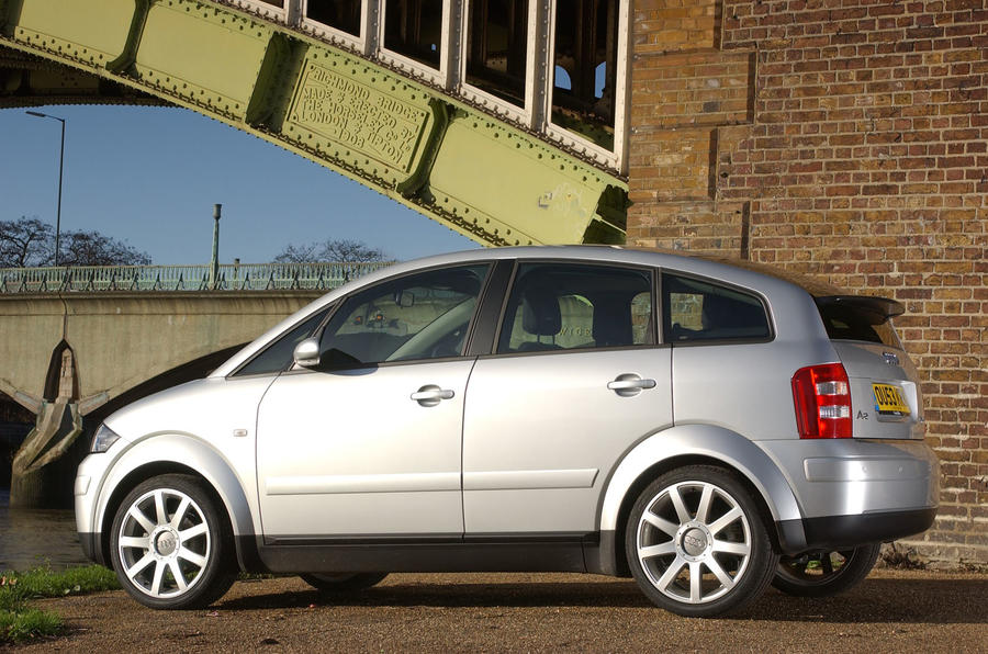 Audi A2 used buying guide - static side