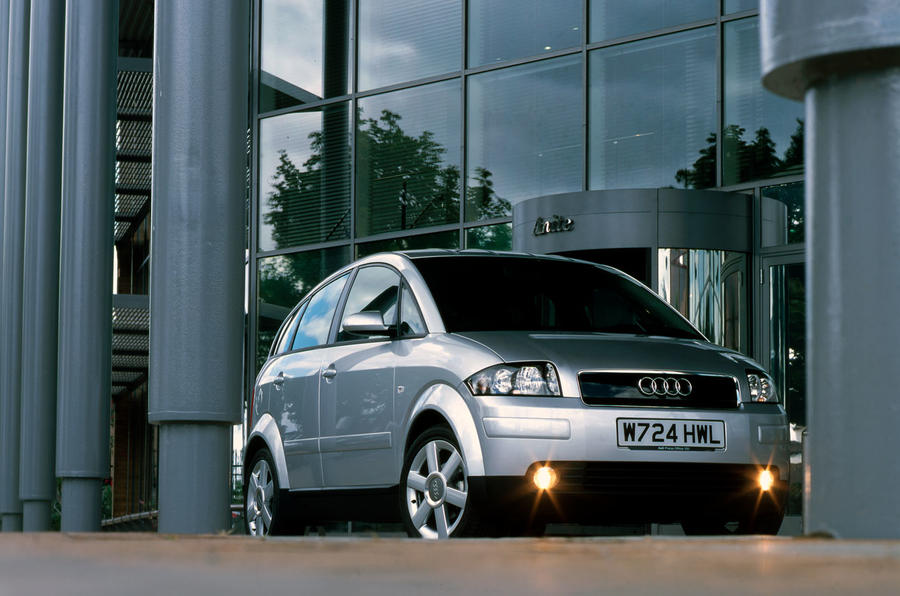 Audi A2 used buying guide - foglights