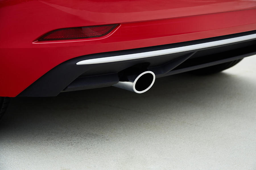 Audi A3 Sportback chrome exhaust