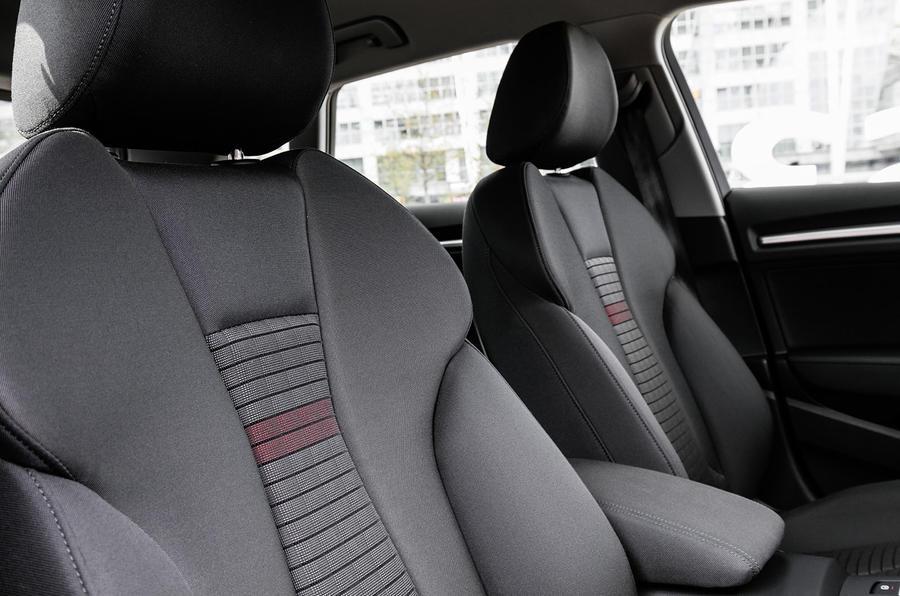 Audi A3 Sportback sport seats