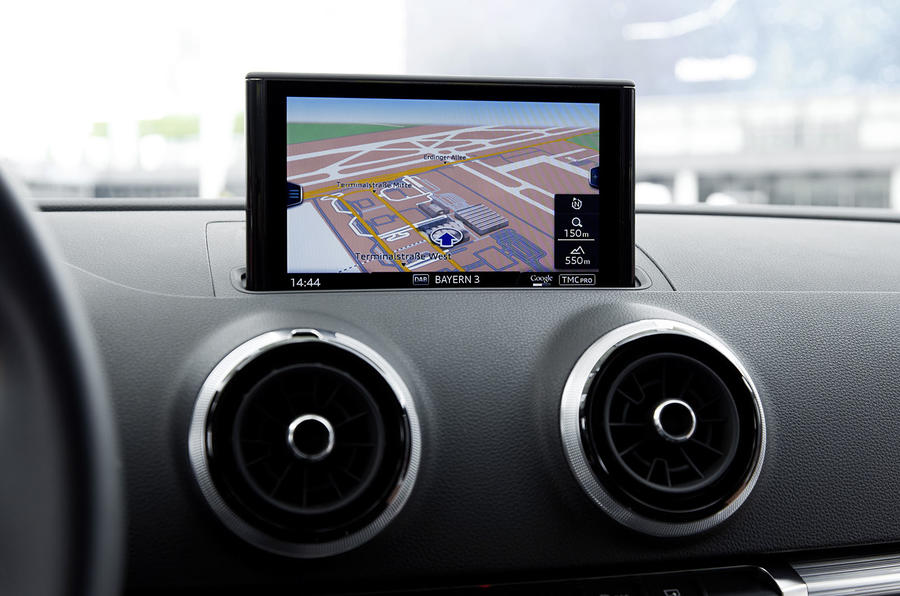 Audi A3 Sportback MMI infotainment