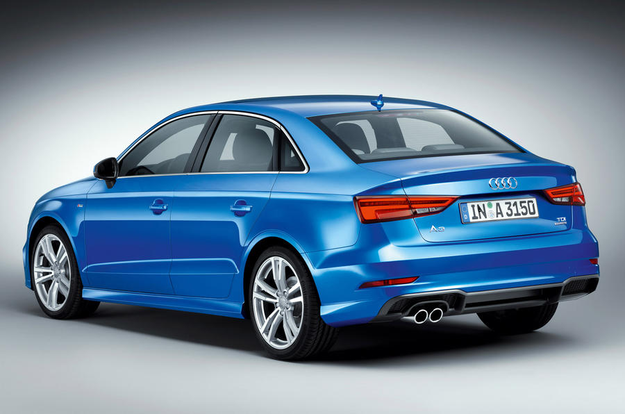 Audi A3 saloon facelift