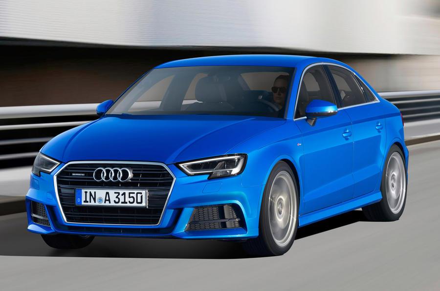Audi A3 saloon facelift