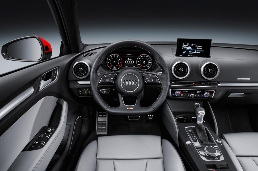 Audi A3 facelift interior
