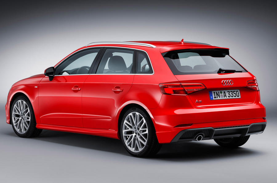 audi a3 facelift revealed autocar. Black Bedroom Furniture Sets. Home Design Ideas