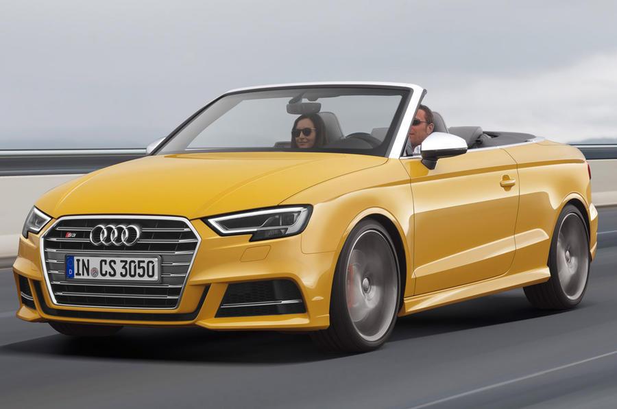 Audi A3 cabriolet facelift
