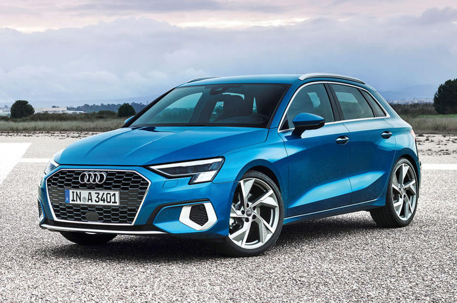 2020 Audi A3 - static front