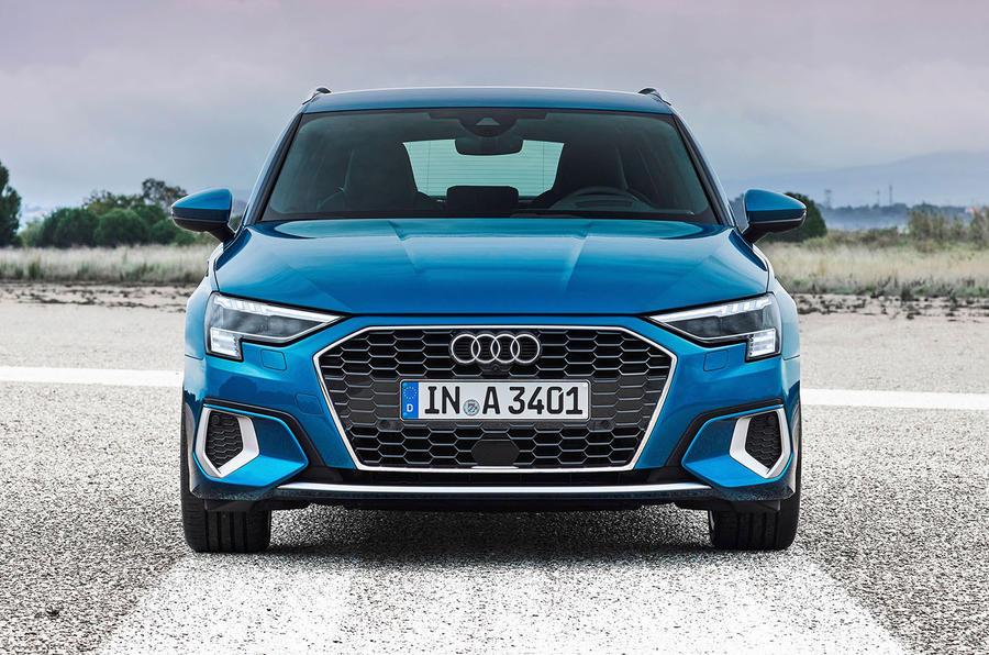 2020 Audi A3 - front