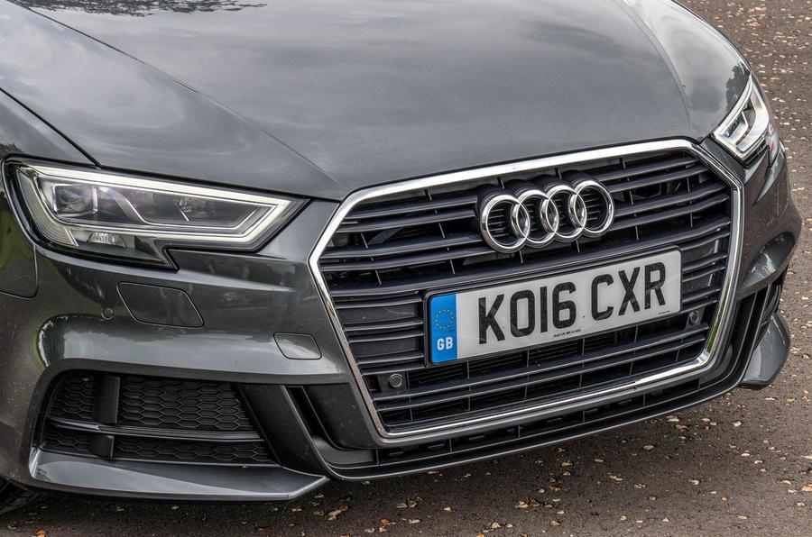Audi A3 Sportback front end
