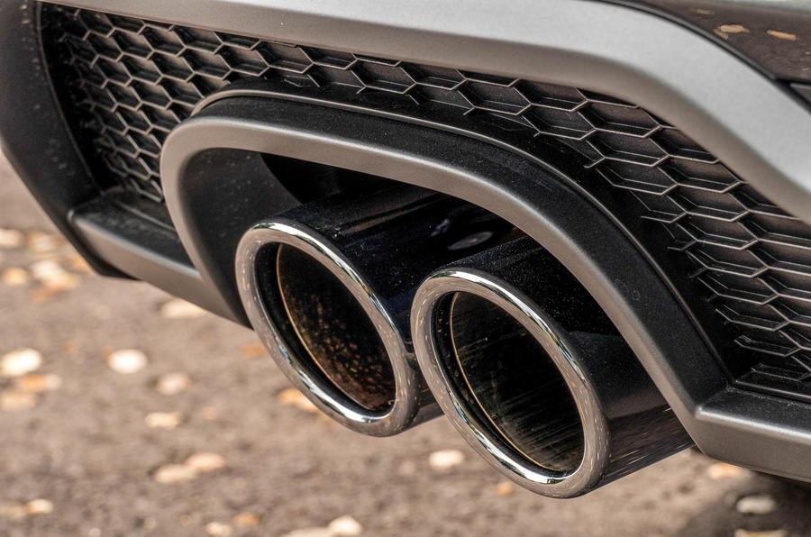 Audi A3 Sportback twin exhaust