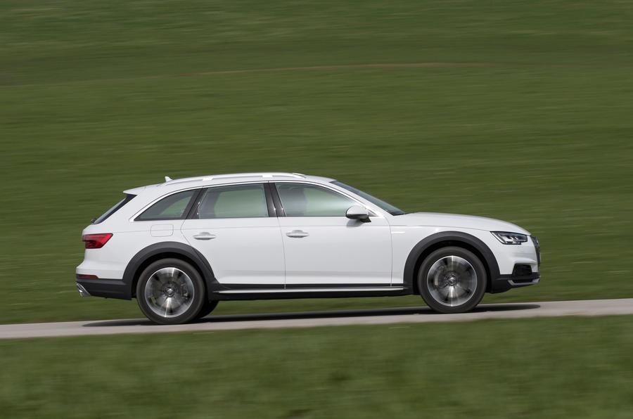 Audi A4 Allroad side profile