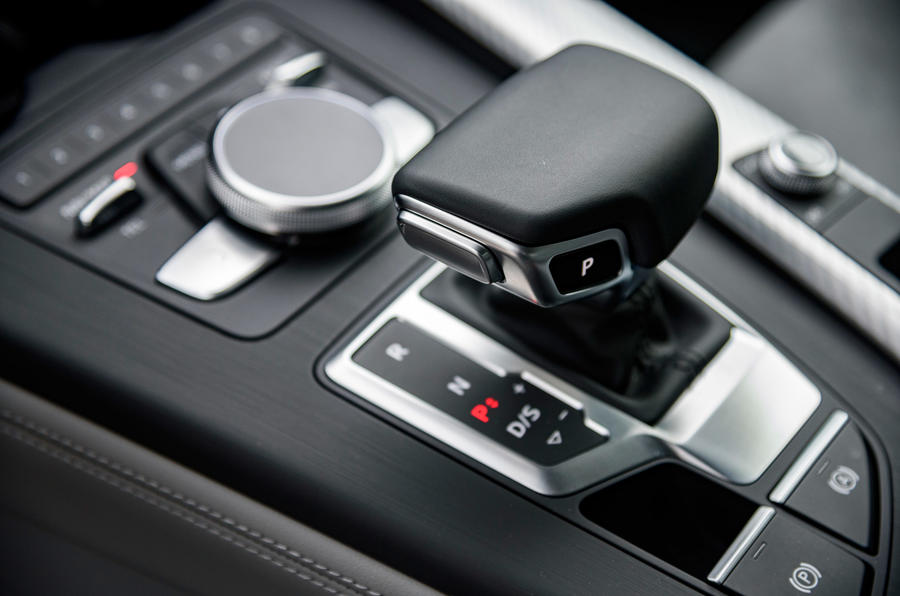 Audi A4 Allroad automatic gearbox