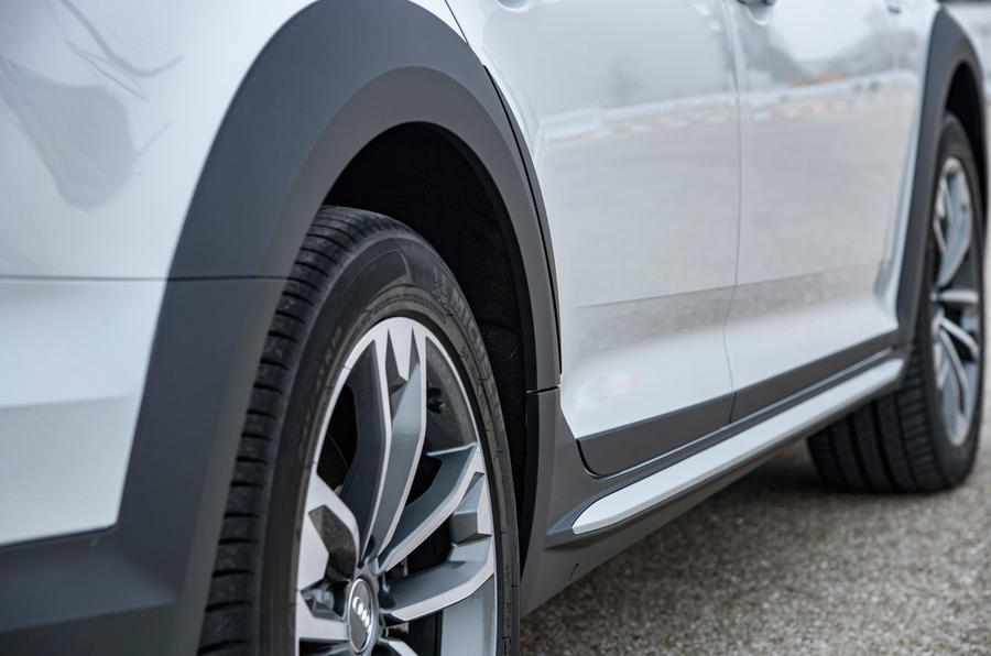 Audi A4 Allroad plastic-moulded wheelarches