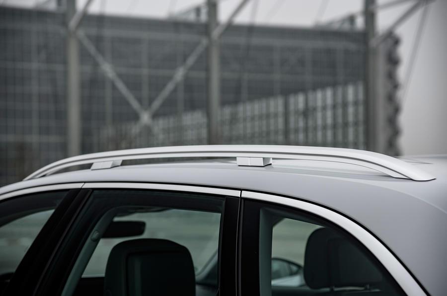 Audi A4 Allroad roof rails