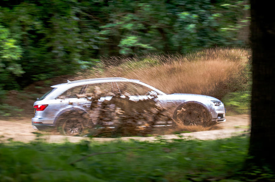 Audi A4 Allroad 3.0 TDI quattro 272 off-roading