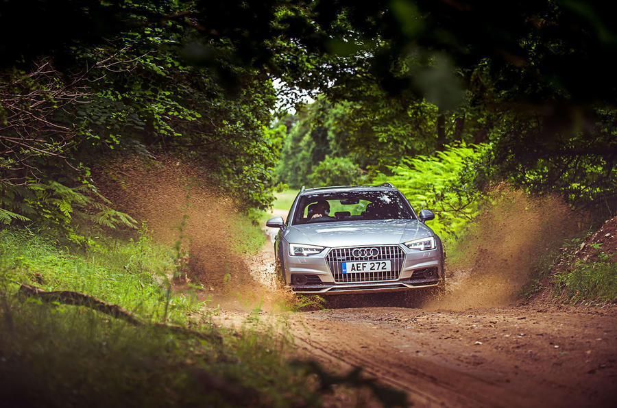 Audi A4 Allroad off-road
