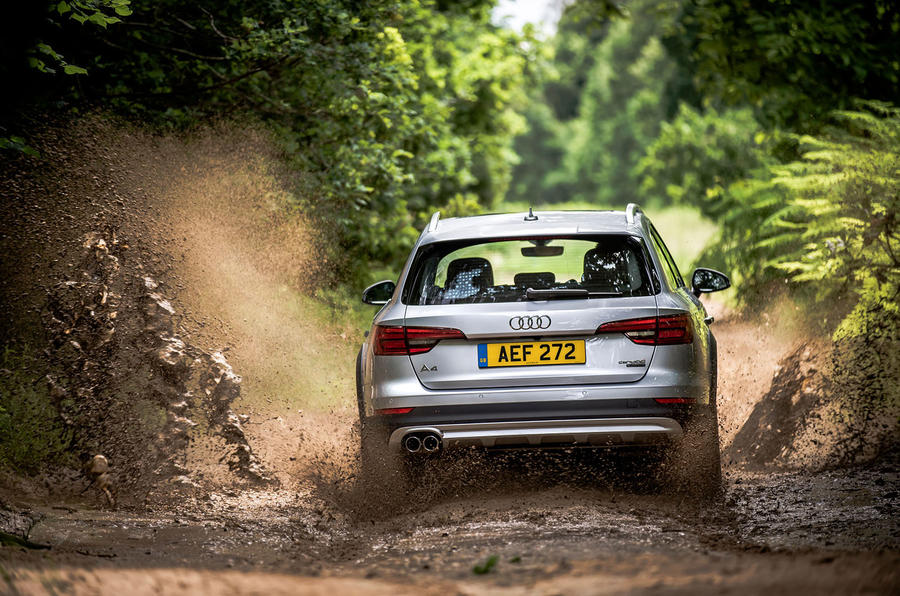 Audi A4 Allroad rear