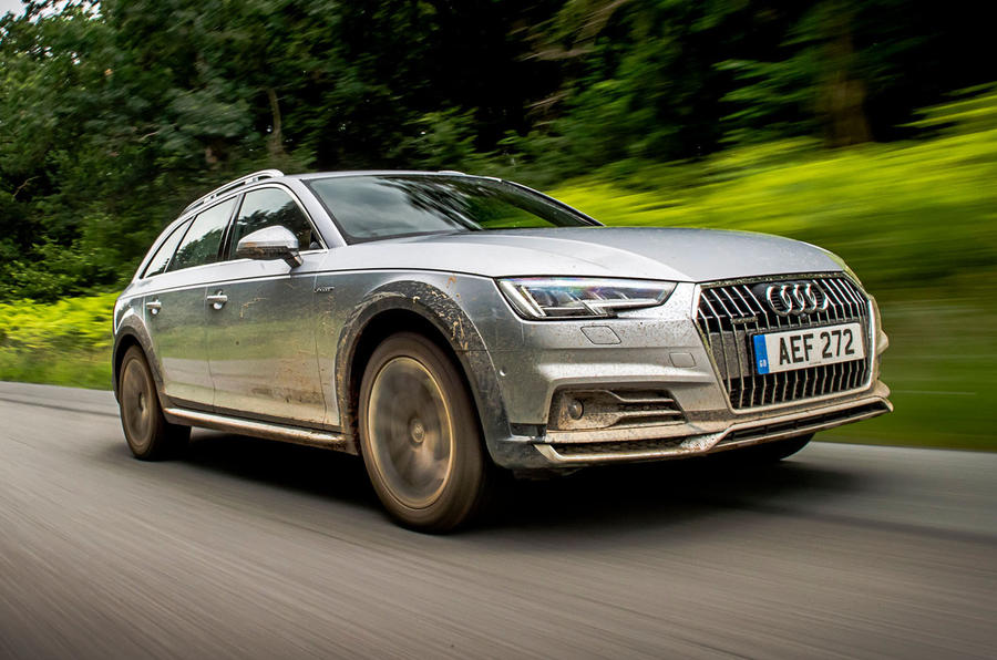 Audi A4 Allroad front