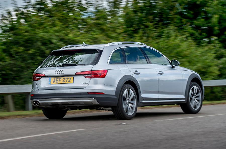 Audi A4 Allroad rear