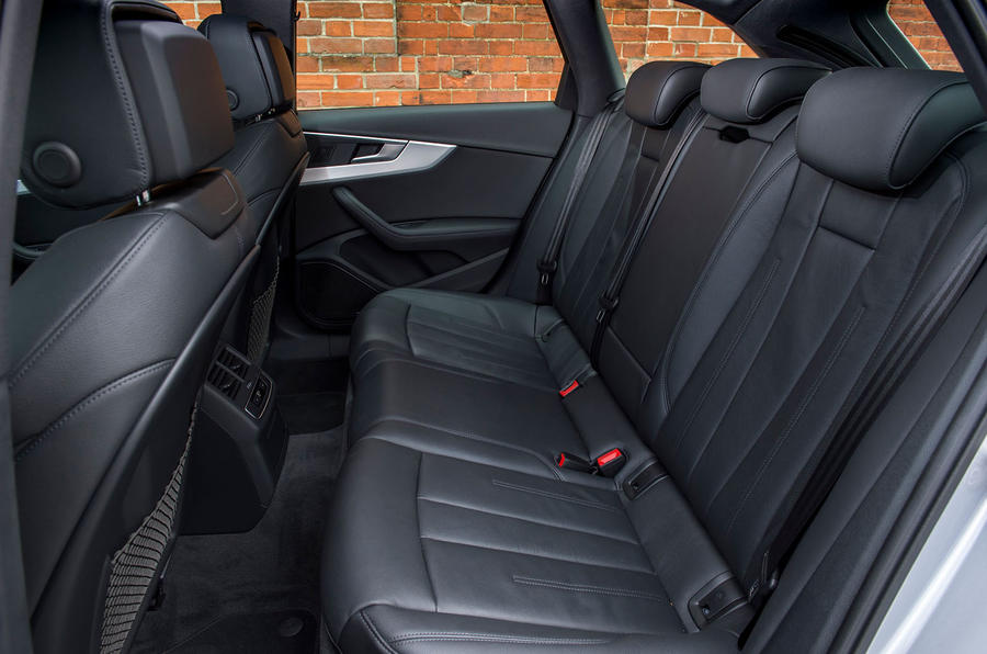 Audi A4 Allroad rear seats