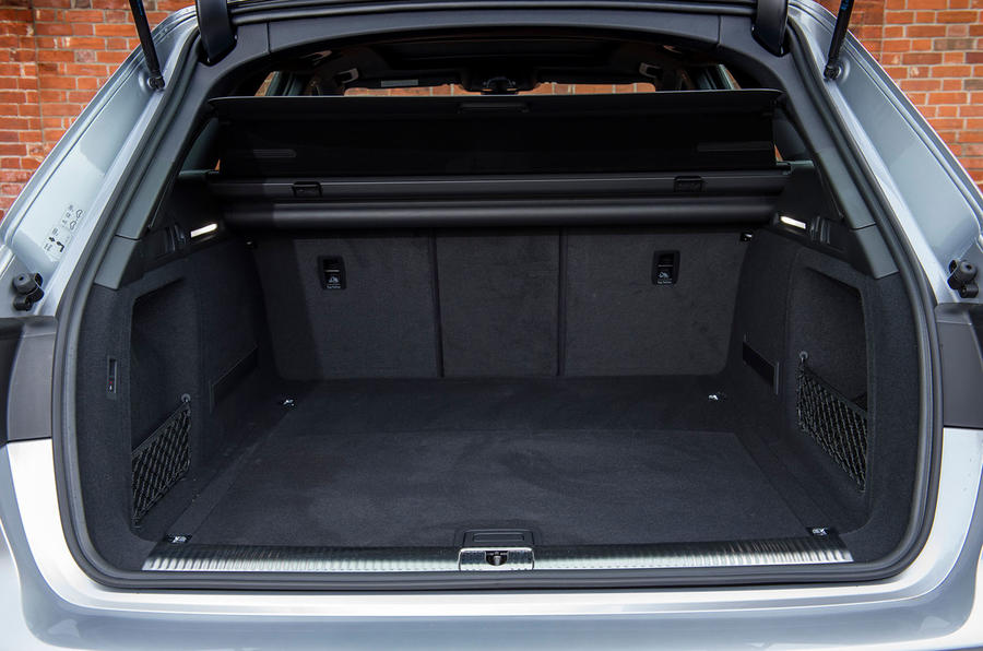 Audi A4 Allroad boot space