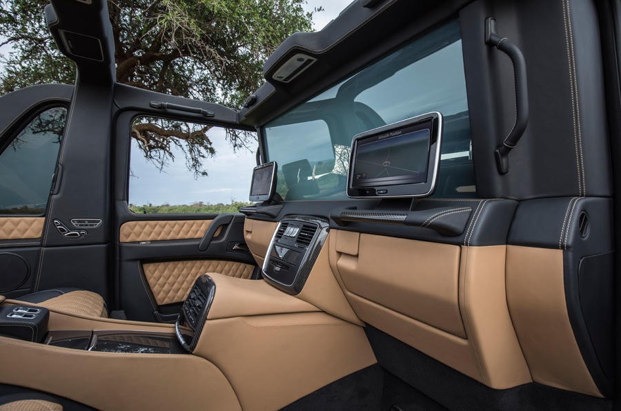 mercedes-maybach g650 landaulet: we take a ride through the african
