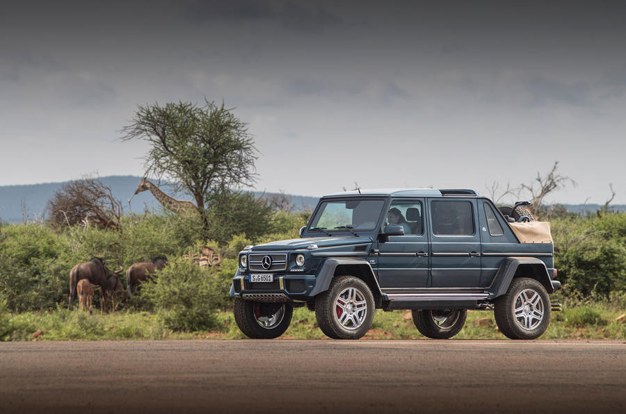 Mercedes-Maybach G650 Landaulet side view