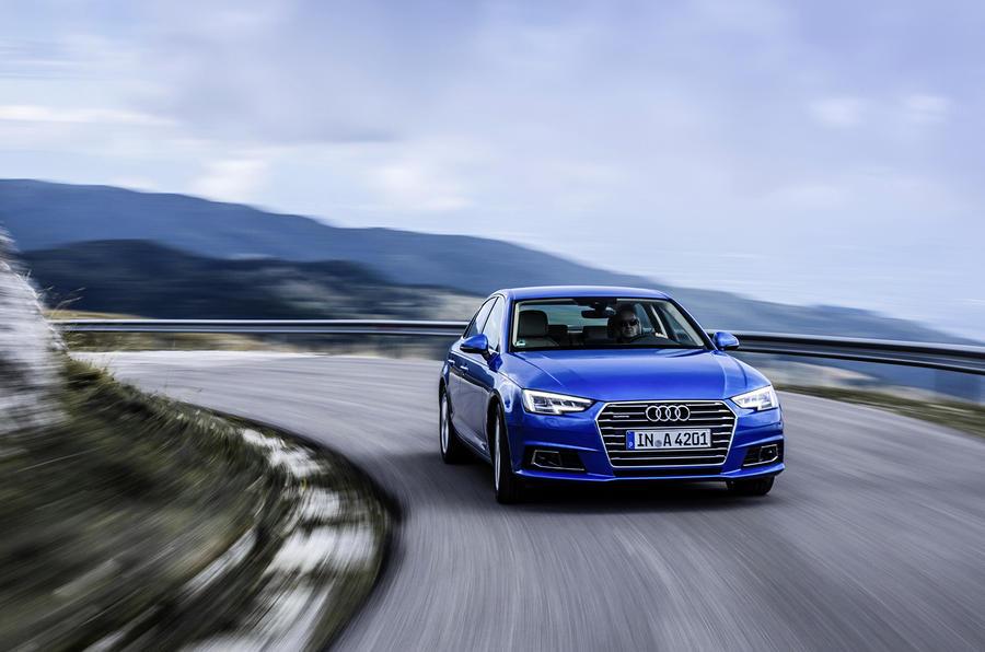 Audi A4 1.4 TSI cornering