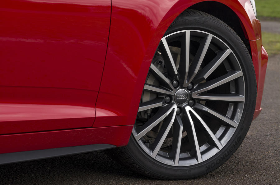 Audi A5 Cabriolet alloy wheels