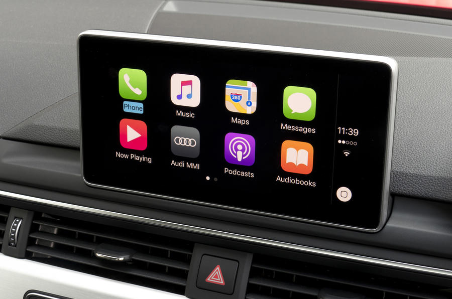 Audi A5 Cabriolet infotainment system