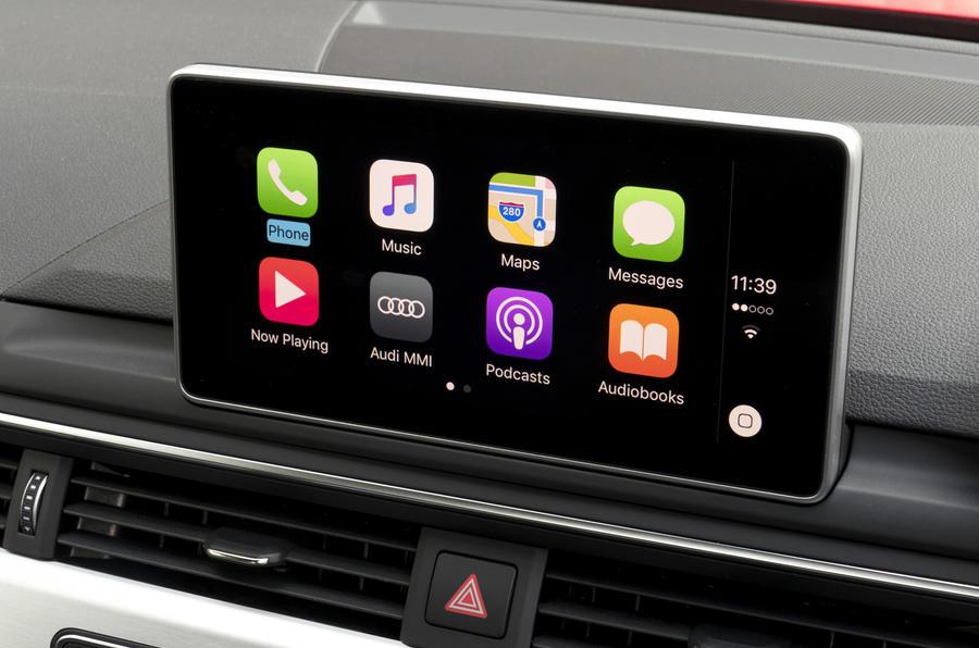 Audi A5 Cabriolet infotainment system