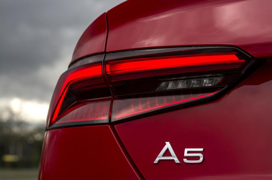 Audi A5 Cabriolet rear lights