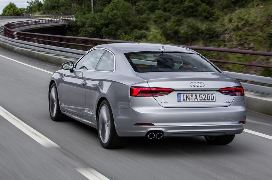 Audi A5 3.0 TDI quattro rear