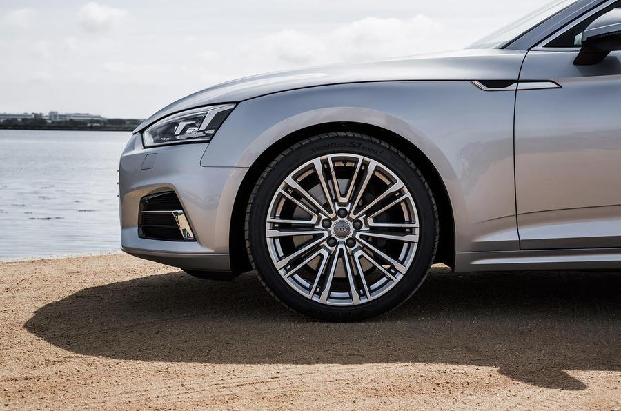 19in Audi A5 alloy wheels