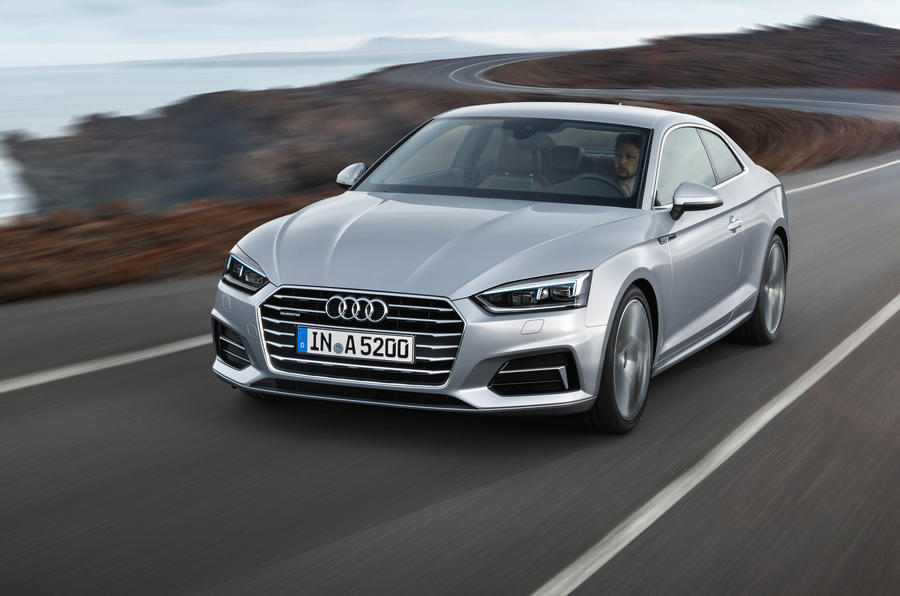 2017 audi a5 coupe and s5 revealed | autocar