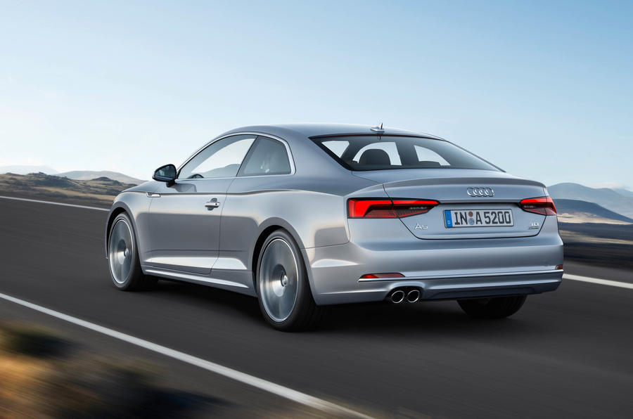 2017 audi a5 coupe and s5 revealed autocar. Black Bedroom Furniture Sets. Home Design Ideas