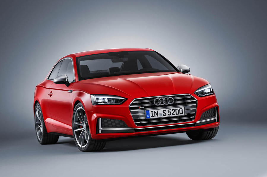 2017 Audi S5 4 Door >> 2017 Audi A5 coupe and S5 revealed | Autocar