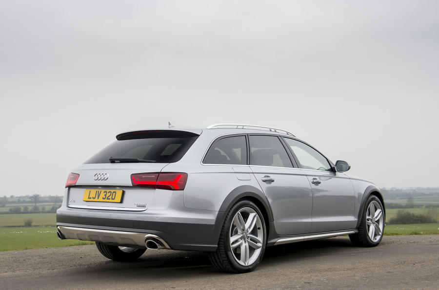 Audi A6 Allroad rear quarter