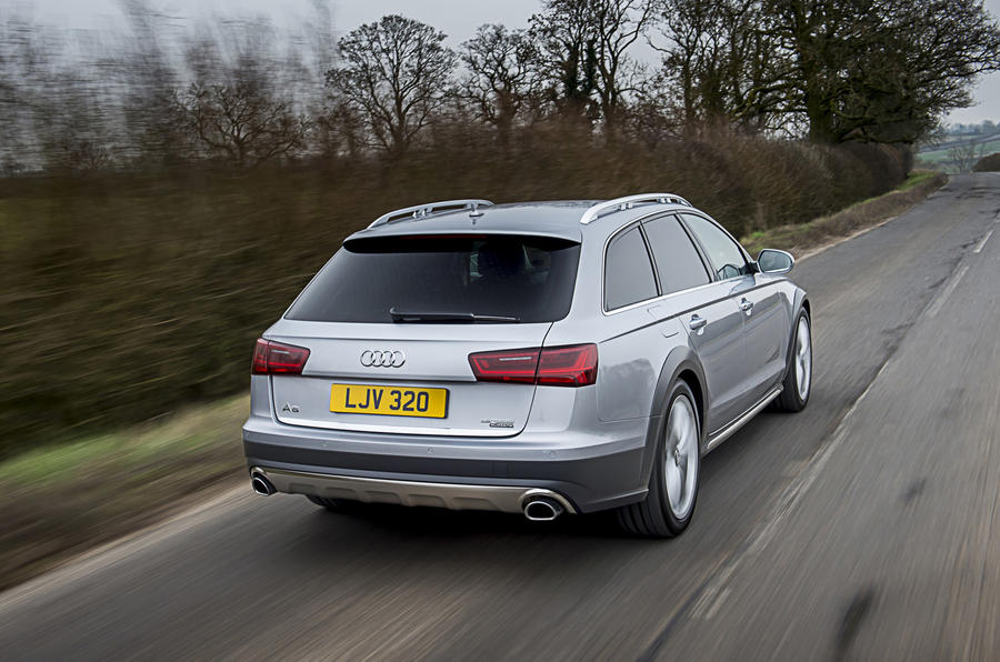 Audi A6 Allroad rear