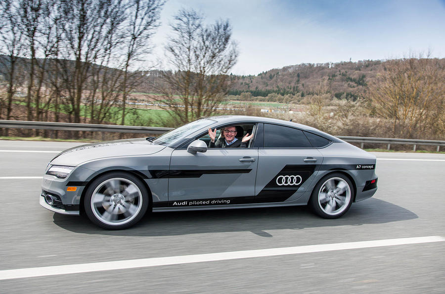 Audis Autonomous A Prototype Tested Autocar - Audi piloted driving