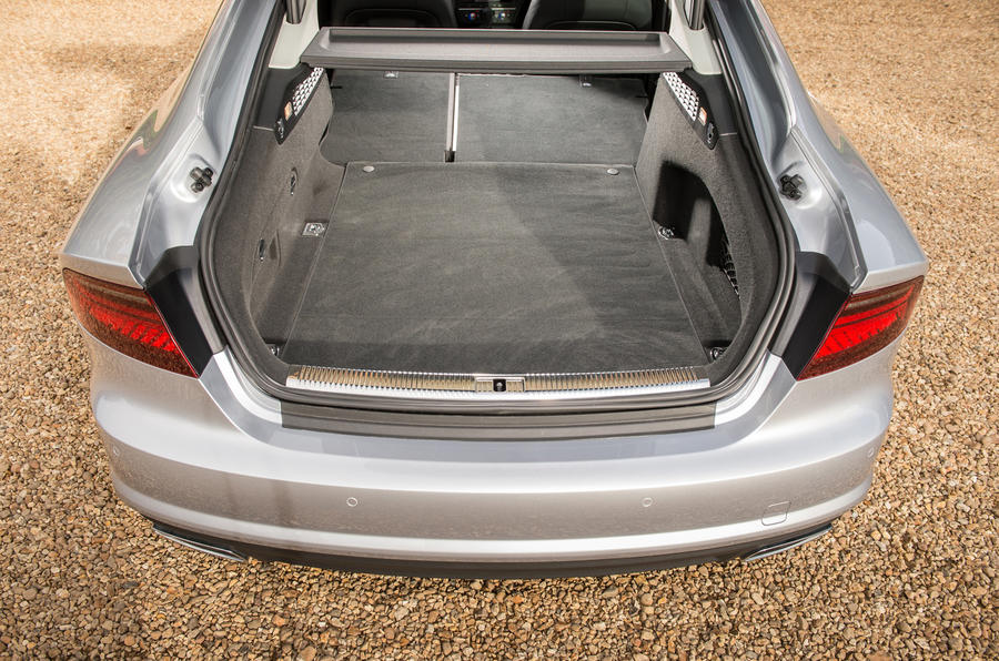 Audi A7 boot space